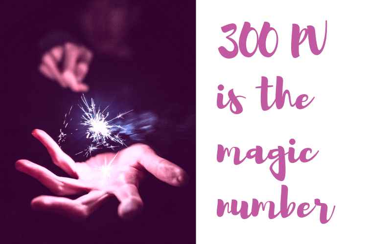 Why 300 Point Value is the Magic Number